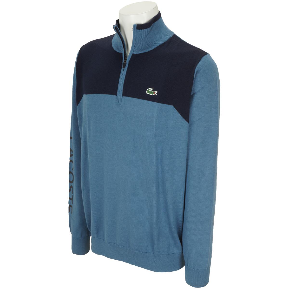 スタンドカラーゴルフセーター