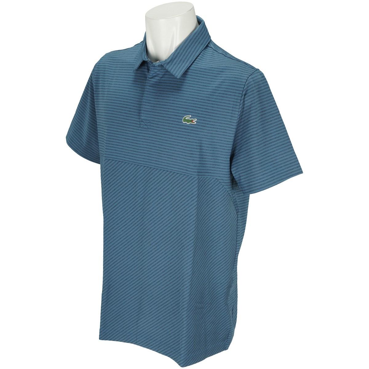 ラコステ ストレッチ スナップフロントゴルフ半袖ポロシャツ