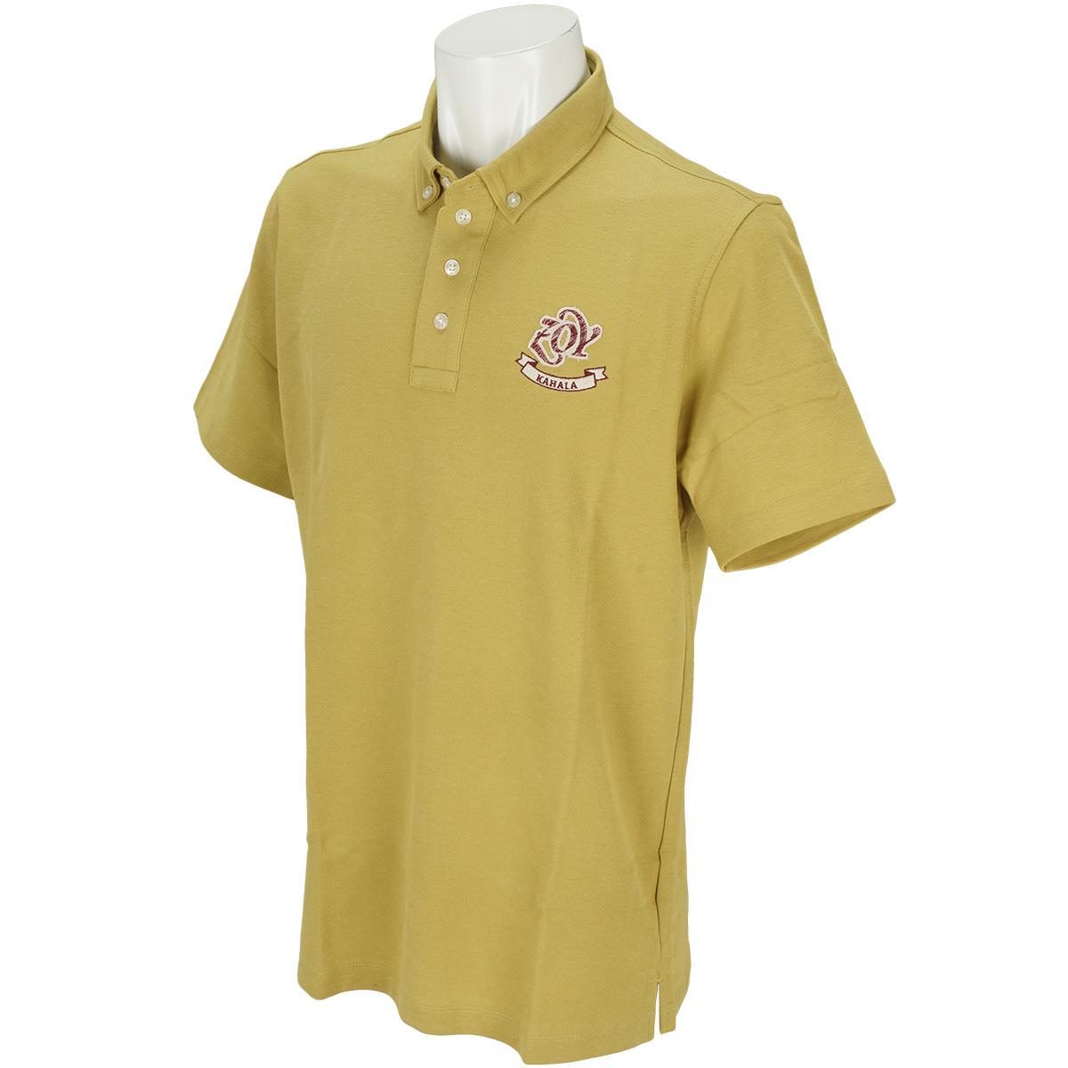 サンダイヤ鹿の子 半袖ポロシャツ