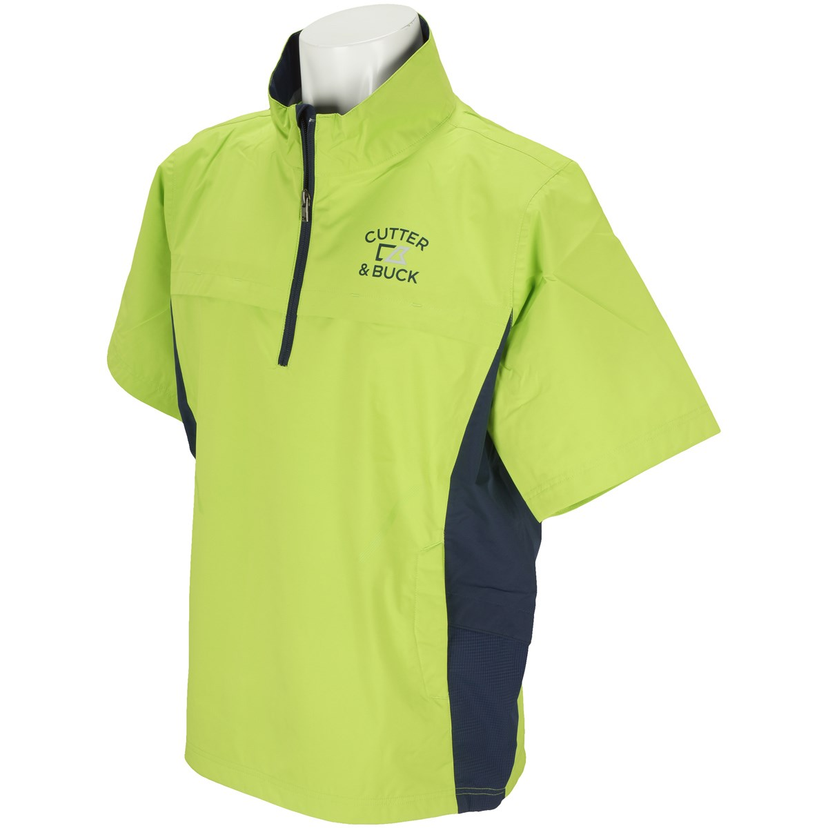 カッター&バック ストレッチ 半袖ウォータプルーフジャケット
