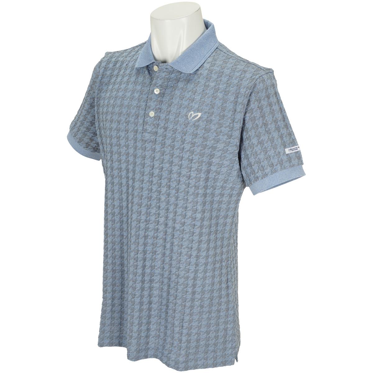 プレーティング千鳥 半袖ポロシャツ