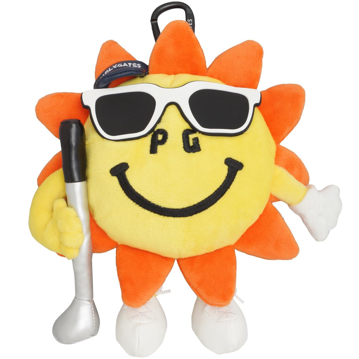 太陽ぬいぐるみボールポーチ