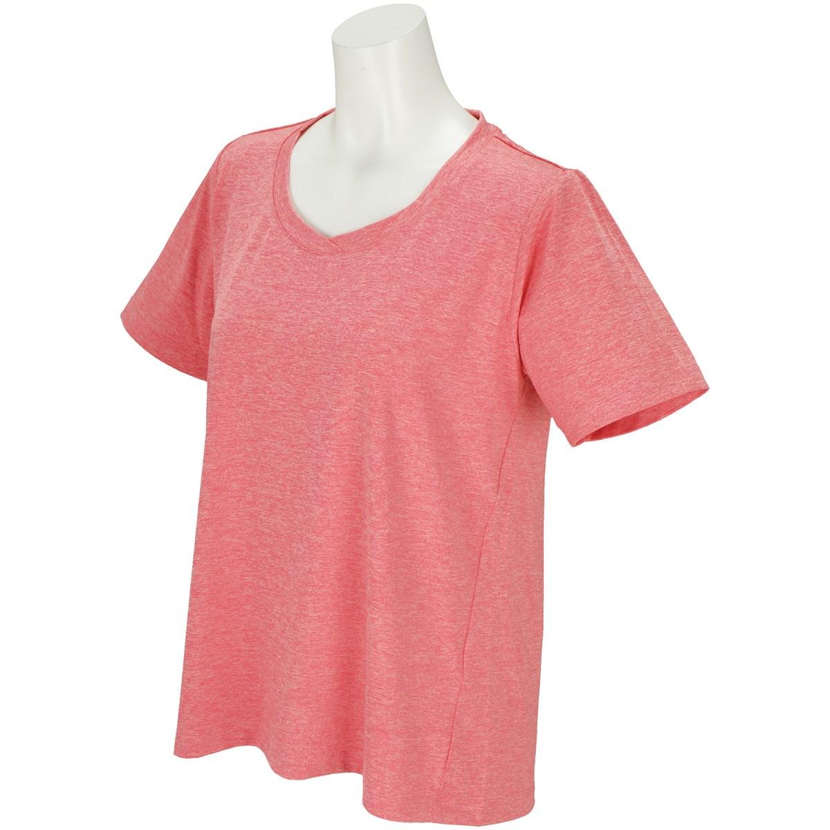 ボディグローブ BODY GLOBE ストレッチ デザイン半袖Tシャツ M ピンク レディス