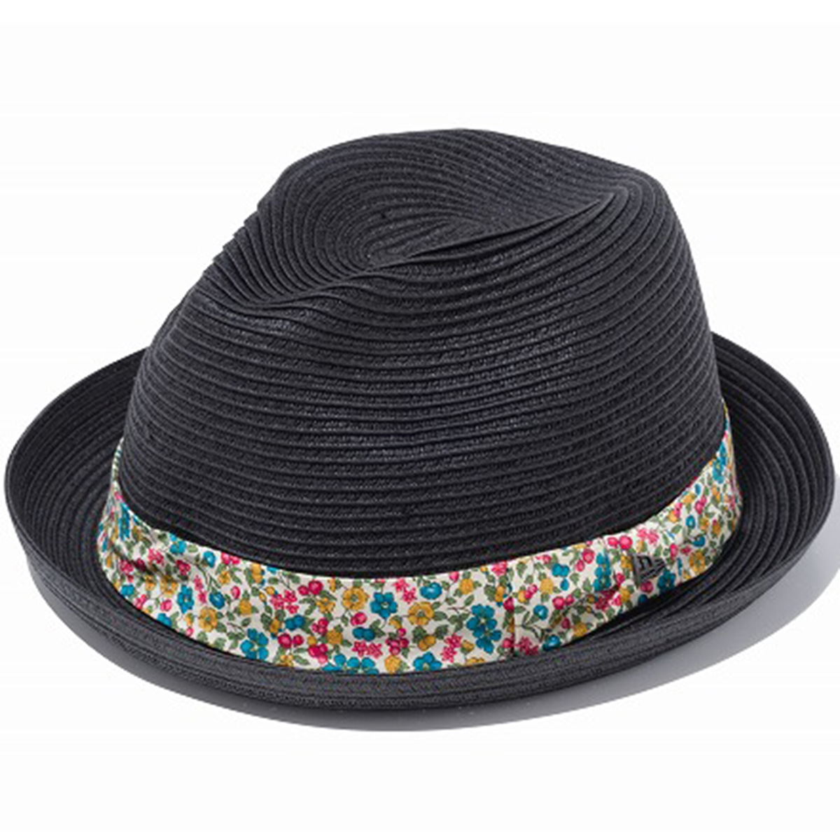 FEDORA BLKPRP FLOWER BAND ハット
