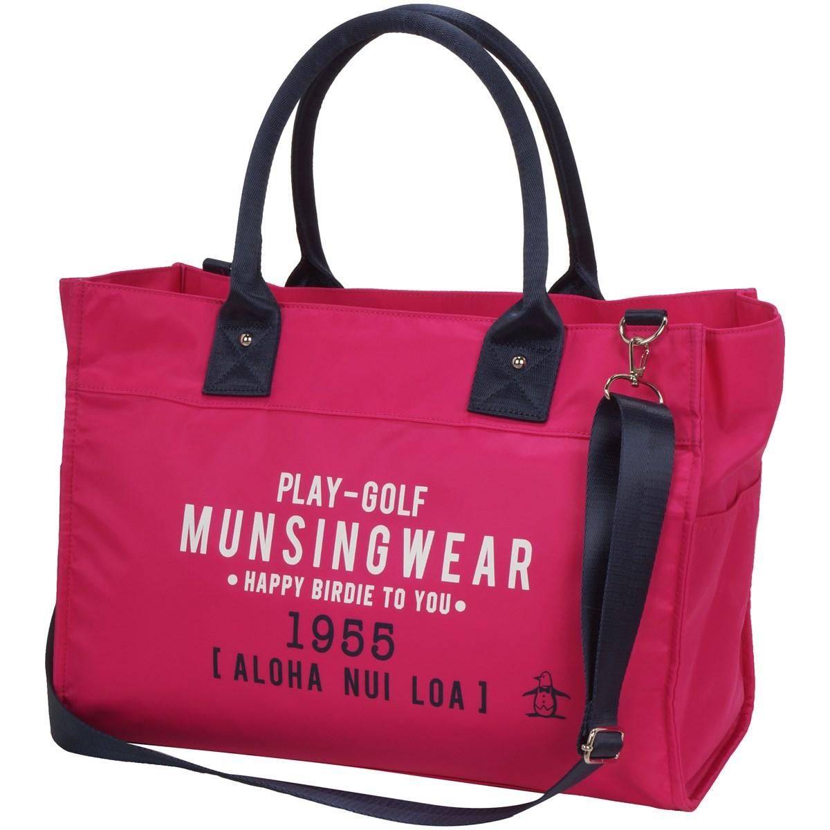 マンシングウェア Munsingwear トートバッグ ピンク 00