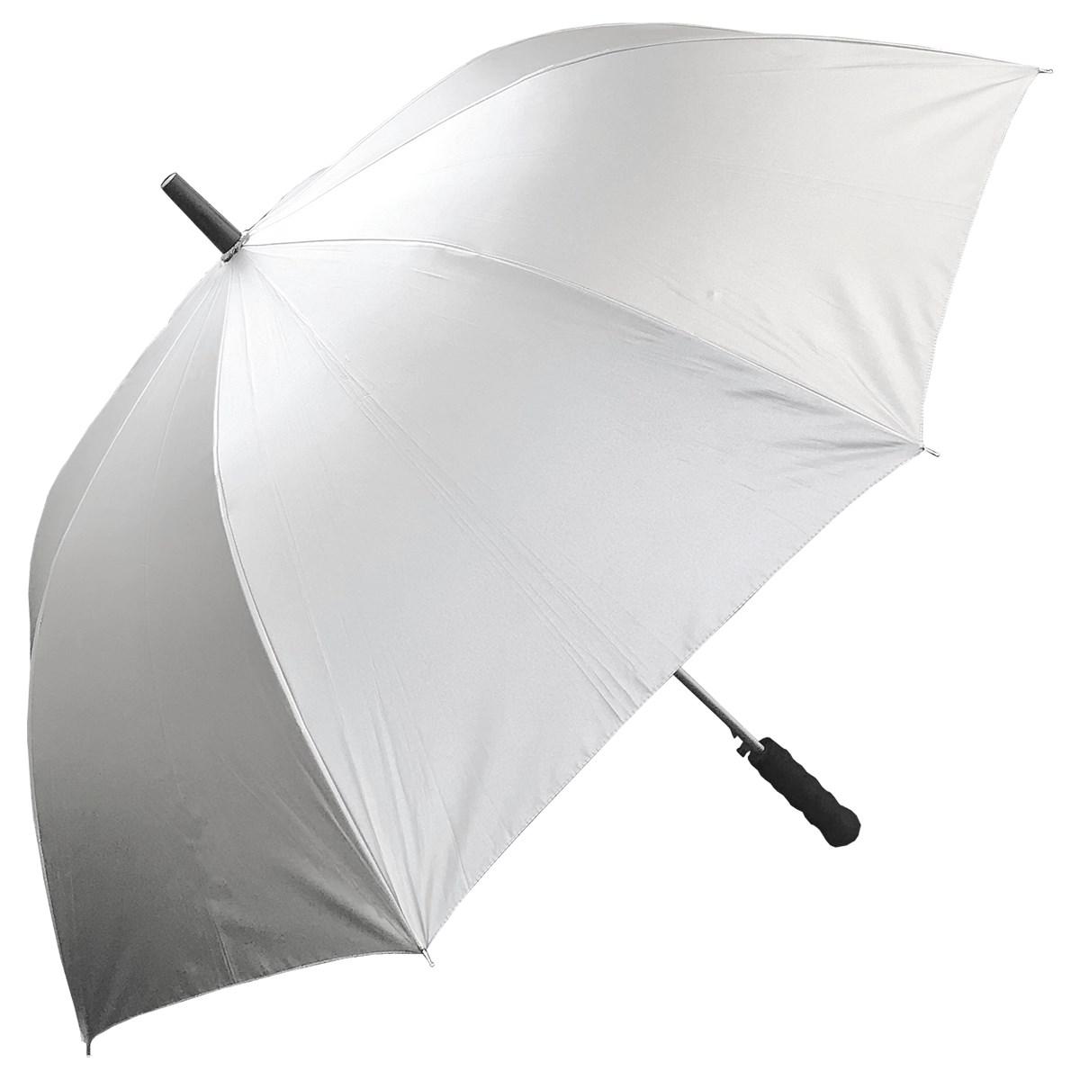 飛衛門 TOBIEMON 晴雨兼用・男女兼用 UVゴルフ傘 シルバー