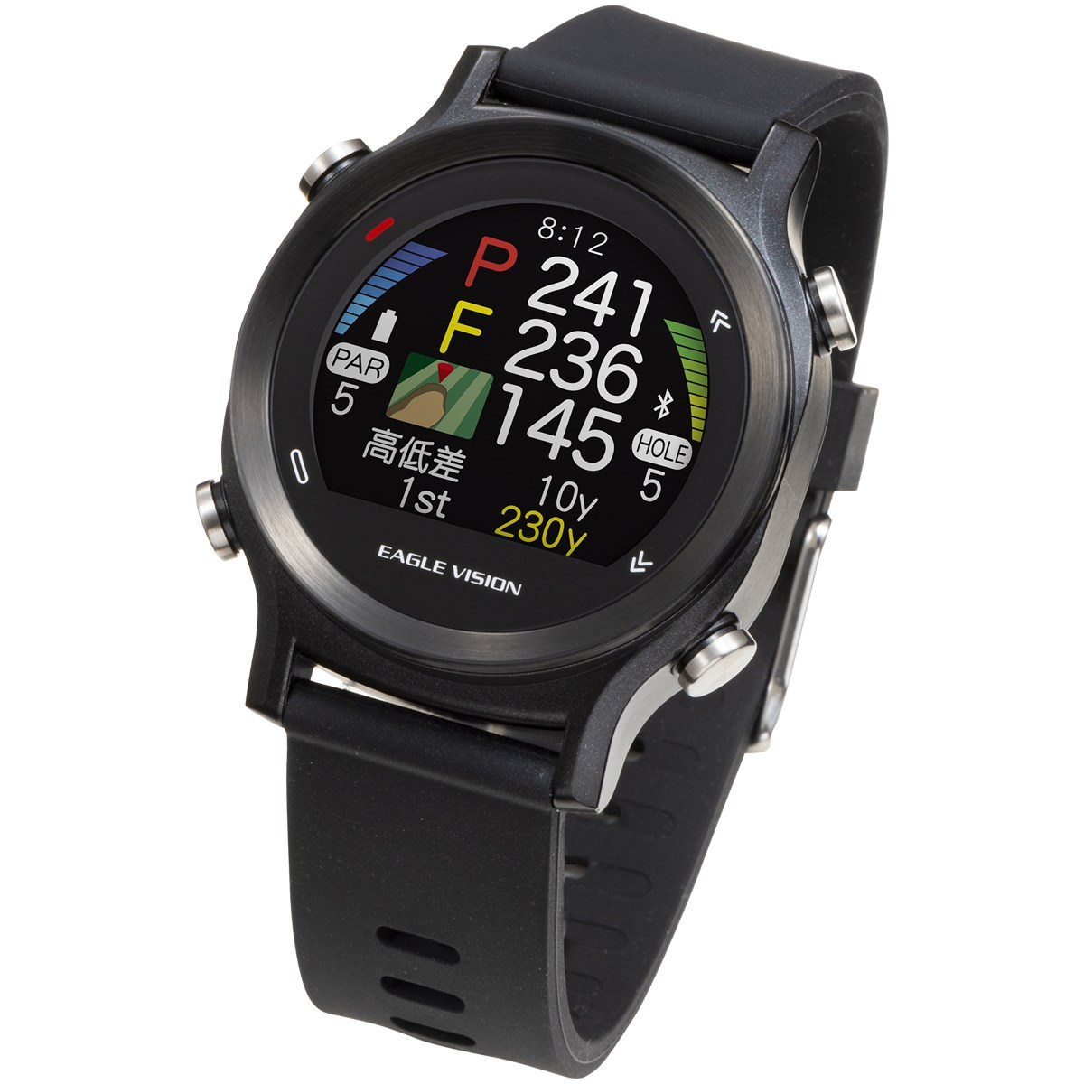 朝日ゴルフ用品 ASAHI GOLF イーグルビジョン Watch ACE ブラック