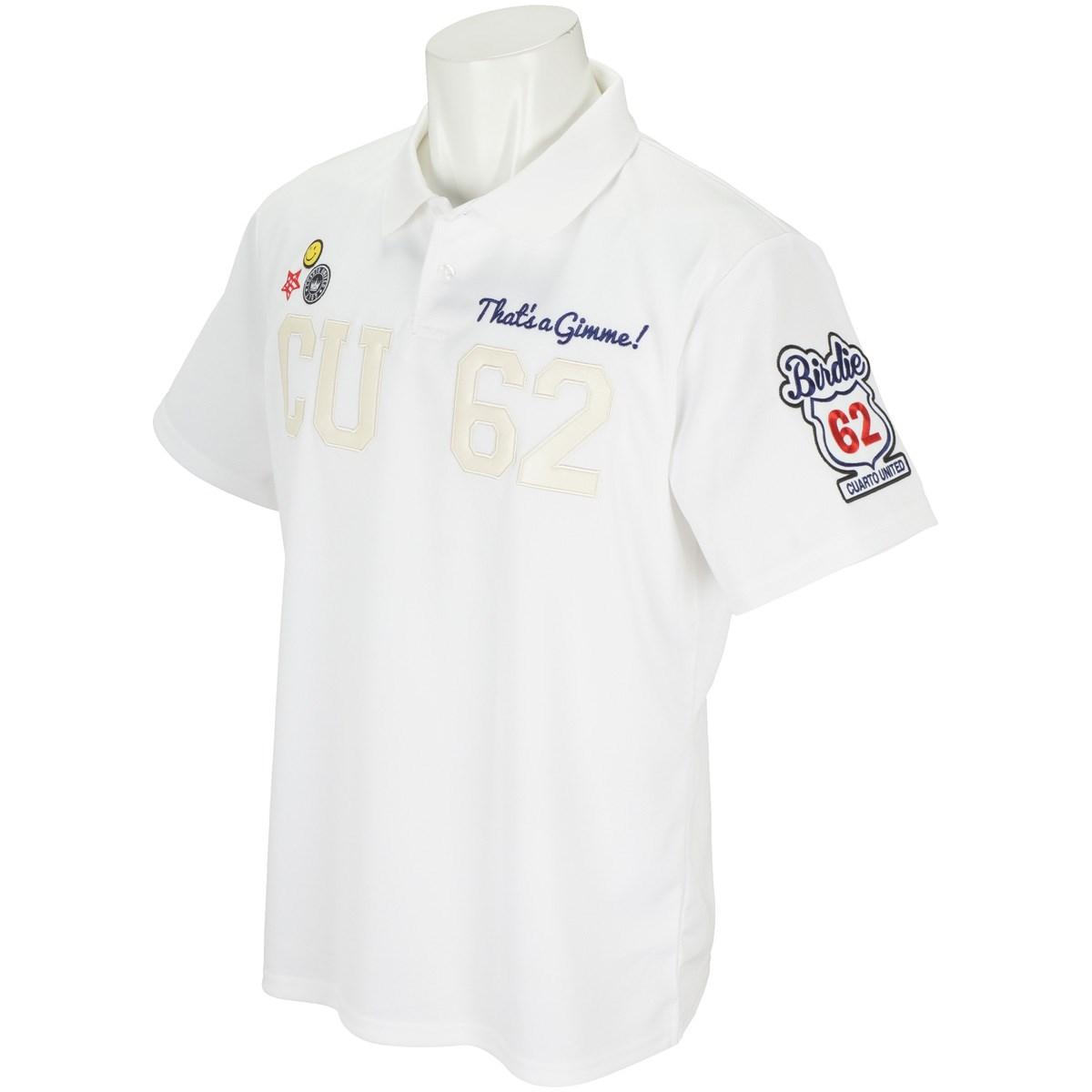 クアルトユナイテッド CU62刺繍半袖ポロシャツ