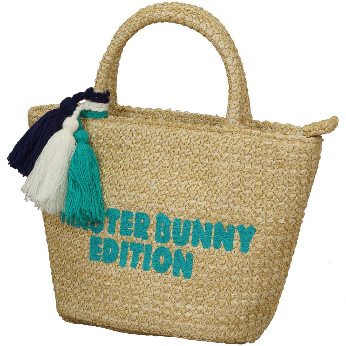 雑材編みカートバッグ