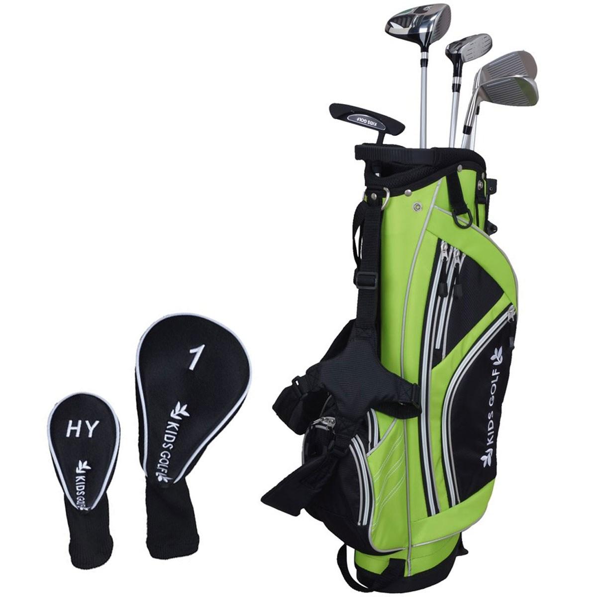 キッズゴルフ KIDS GOLF GDO限定 クラブセット(5本セット)100-120cmサイズ Jr ライトグリーン ジュニア