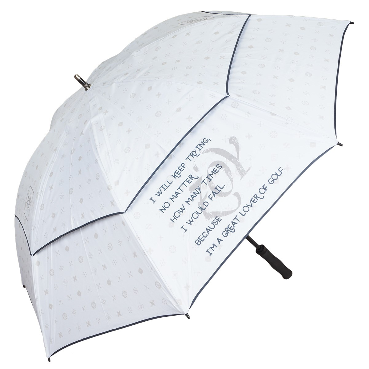 ZOY ゾーイ ゴルフ傘 ホワイト