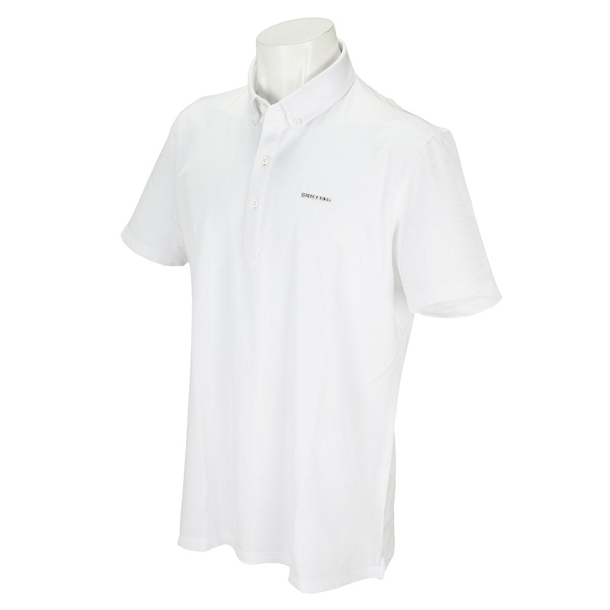 ブリーフィング ACTIVE ボタンダウン半袖ポロシャツ