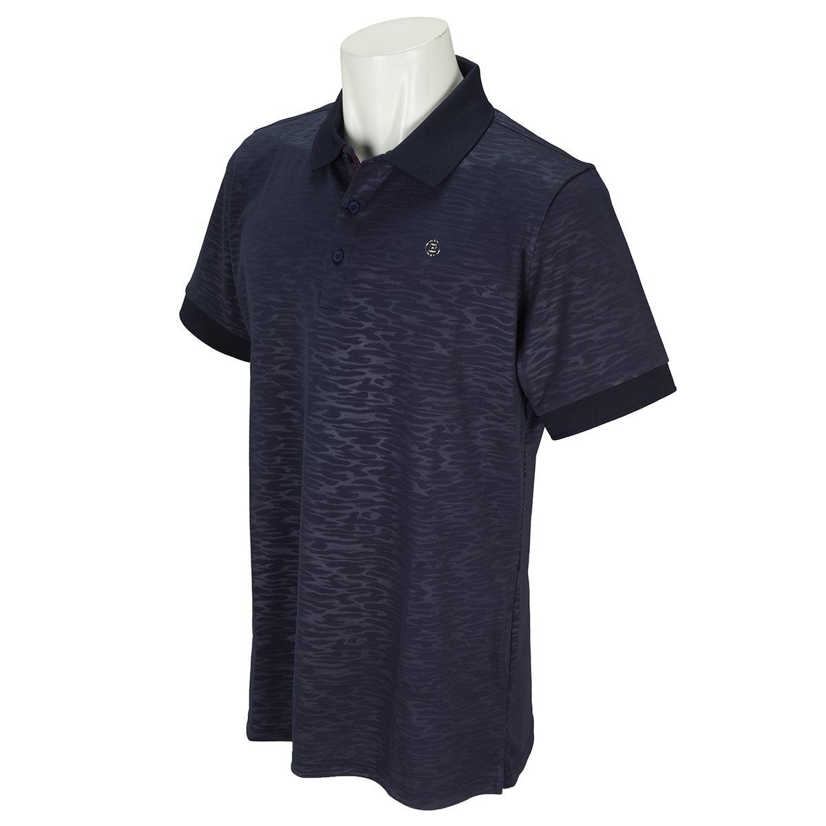 CAMO EMBOSSED 半袖ポロシャツ 2