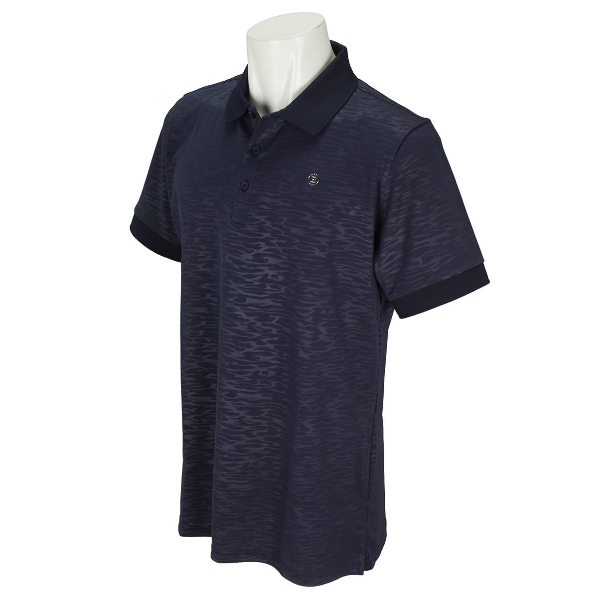 ブリーフィング CAMO EMBOSSED 半袖ポロシャツ 2