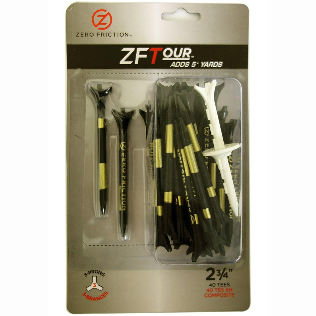 ゼロフリクション ZERO FRICTION ZF TOUR ティー ブラック