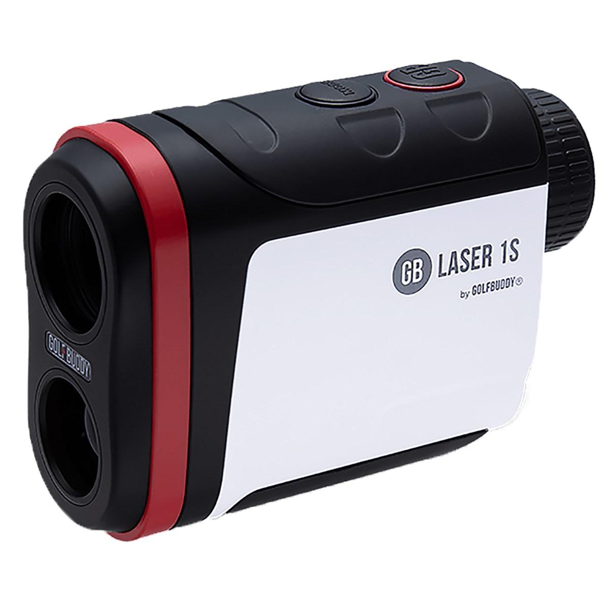 ゴルフバディー GolfBuddy GB LASER1S レーザー距離計測器 ブラック/ホワイト/レッド