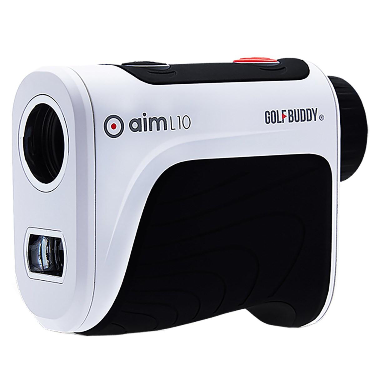 ゴルフバディー GolfBuddy aim L10 レーザー距離計測器 ブラック/ホワイト