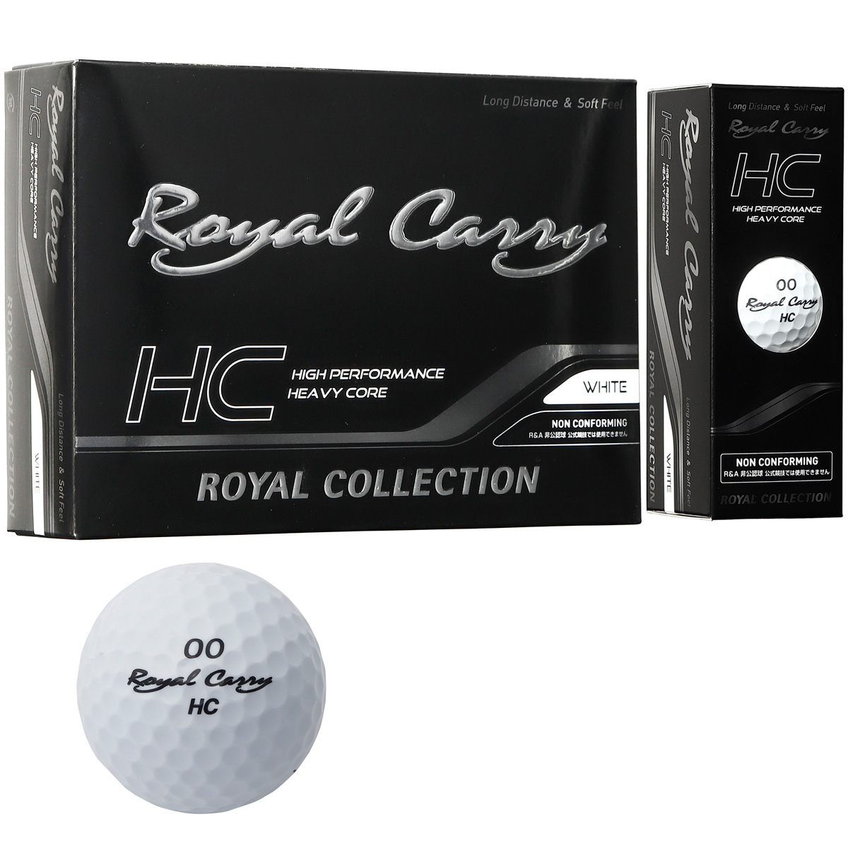 Royal Carry HC ボール 5ダースセット【非公認球】