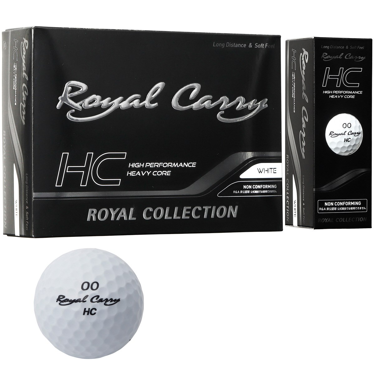 ロイヤルコレクション(ROYAL COLLECTION) Royal Carry HC ボール 5ダースセット【非公認球】