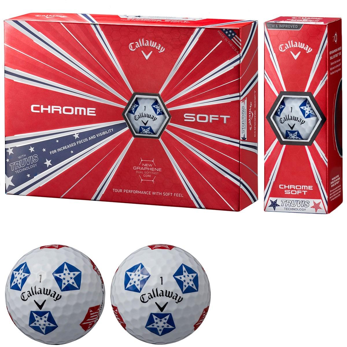 キャロウェイゴルフ(Callaway Golf) CHROME SOFT TRUVIS STARS/STRIPES ボール
