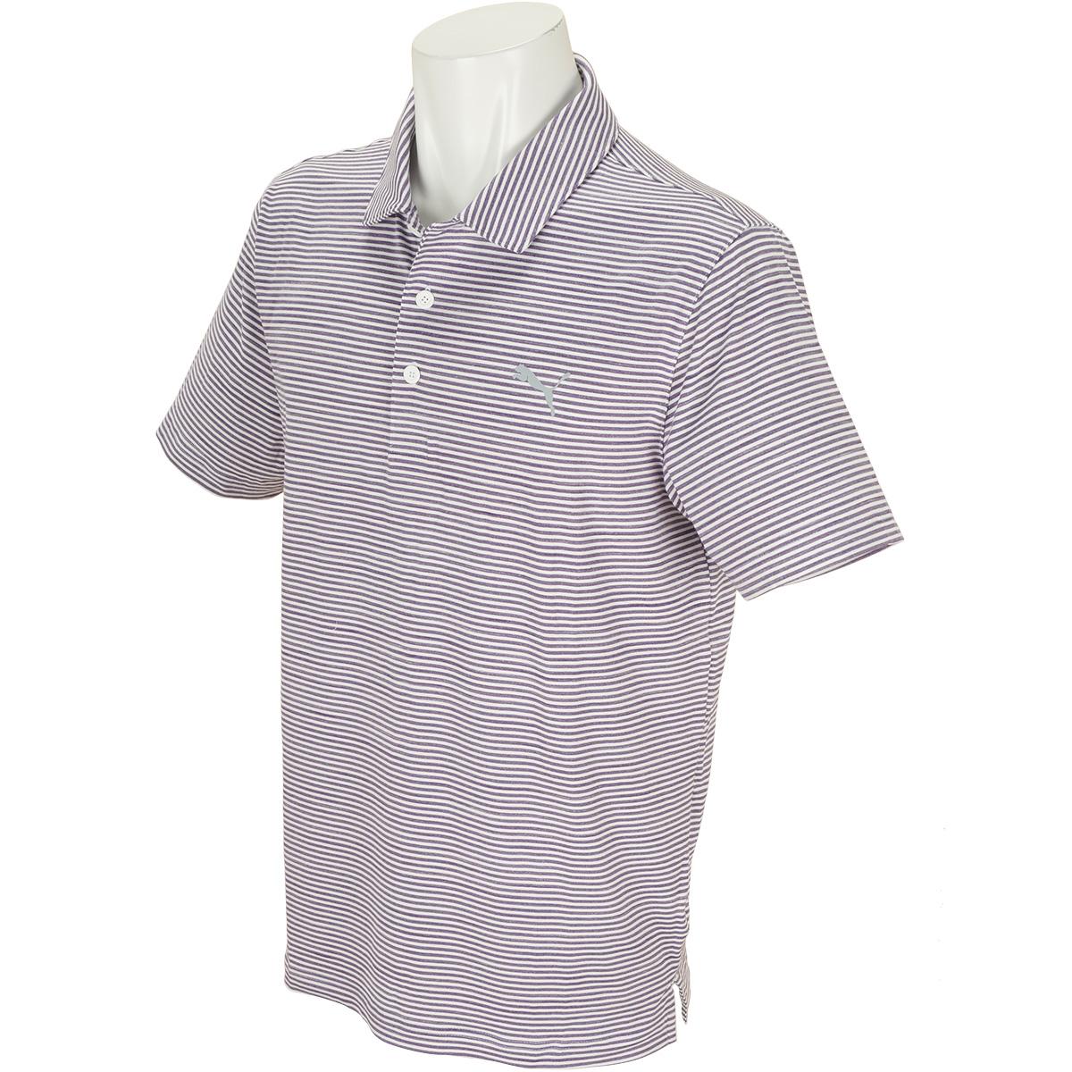 GDO限定 キャディ ストライプ 半袖ポロシャツ