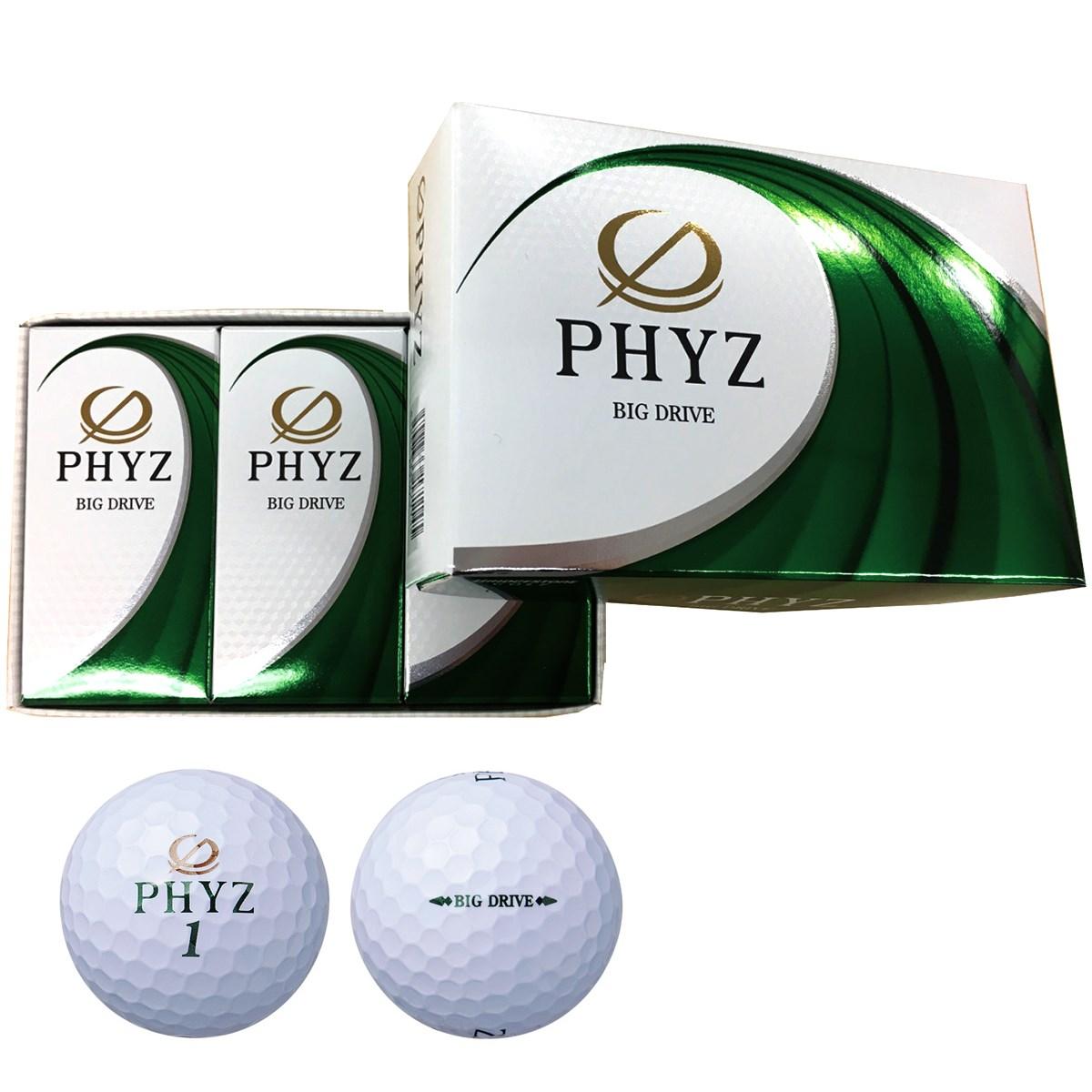 ブリヂストン(BRIDGESTONE GOLF) PHYZ ボール 2017年モデル 半ダース