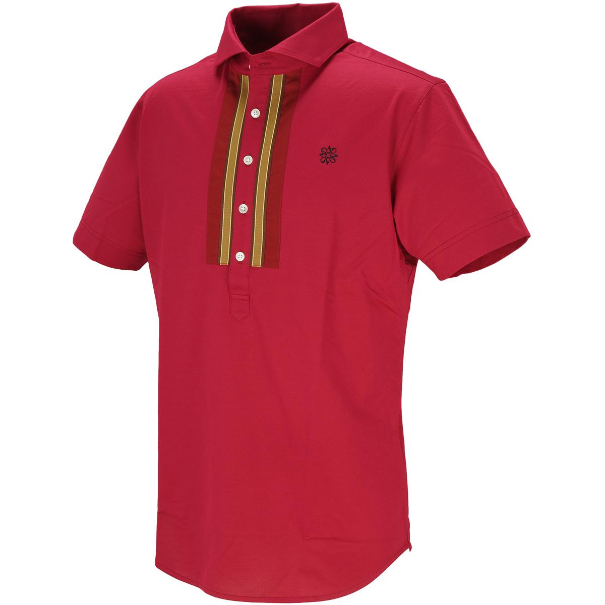 COOLMAXハイゲージハニカム半袖ポロシャツ
