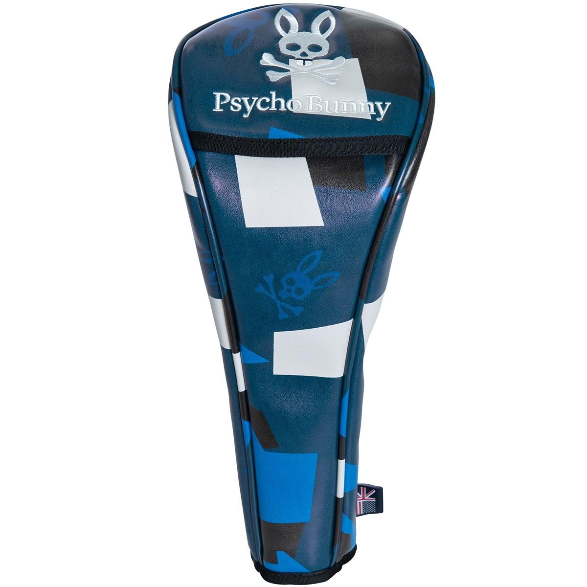 サイコバニー PSYCHO BUNNY NEW CAMO ヘッドカバー DR用 ブルー 34