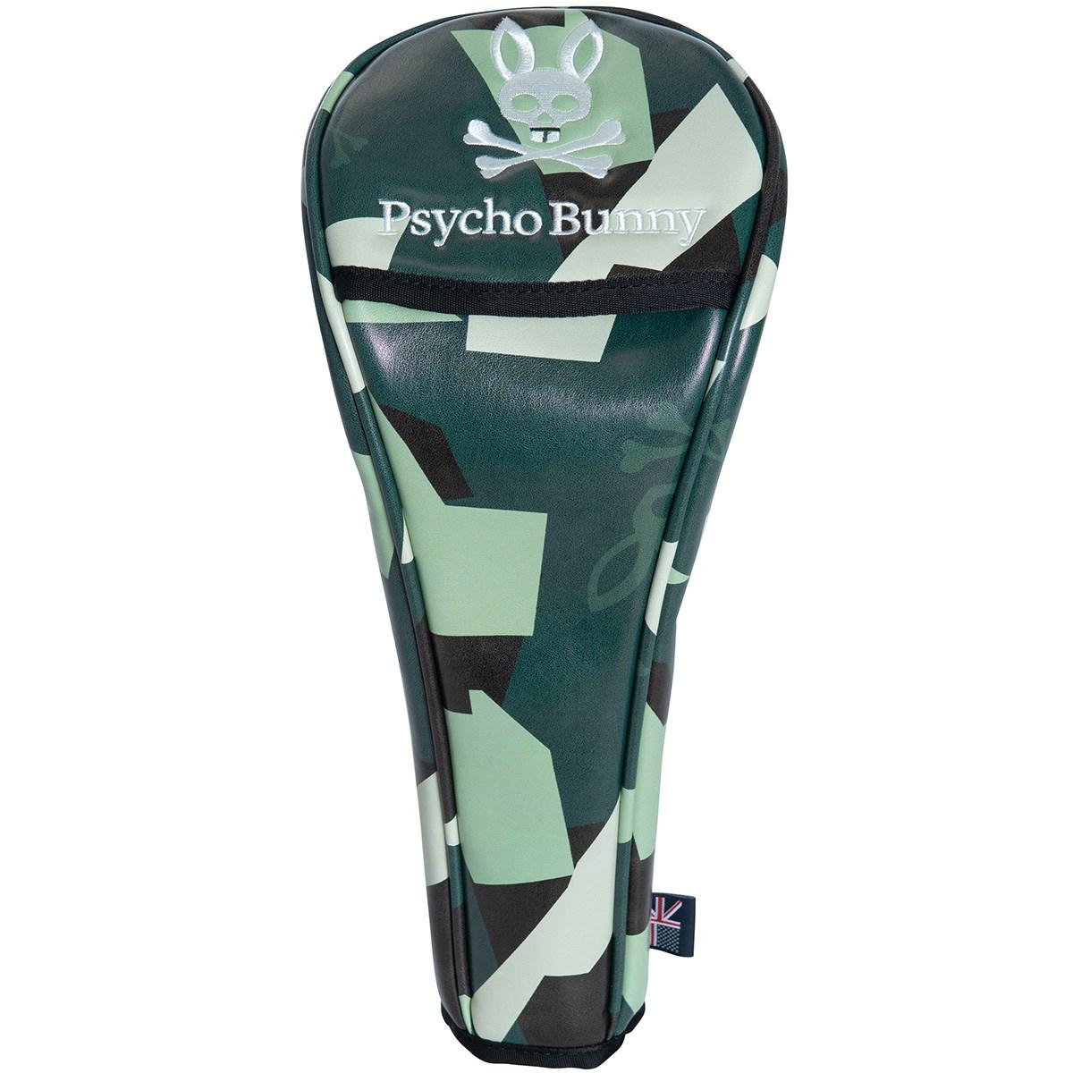 サイコバニー PSYCHO BUNNY NEW CAMO ヘッドカバー DR用 グリーン 60