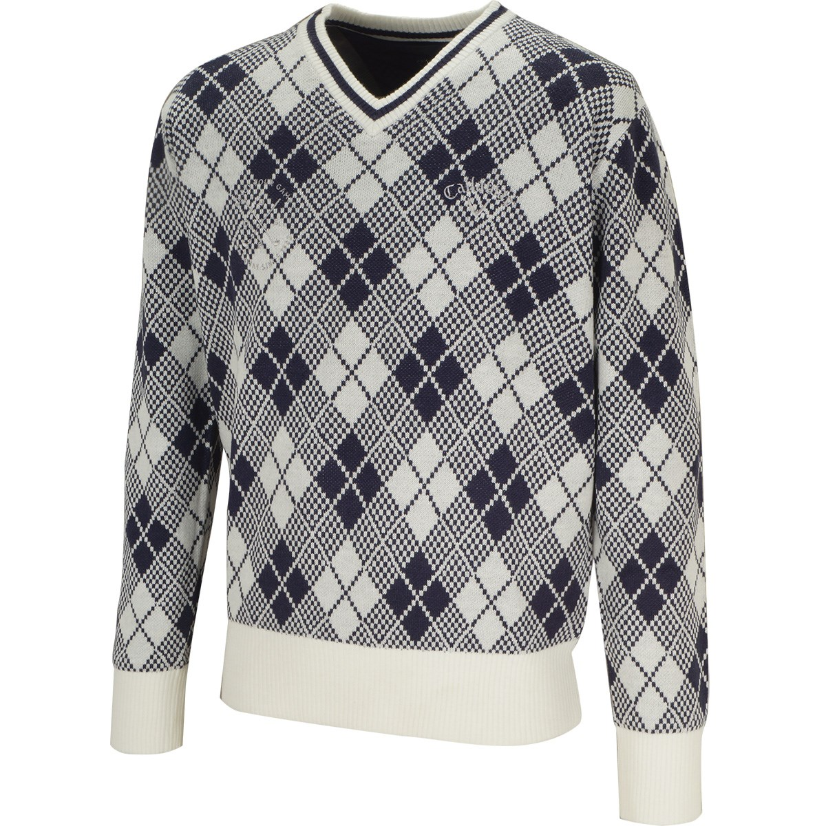 キャロウェイゴルフ(Callaway Golf) アーガイルVネックセーター
