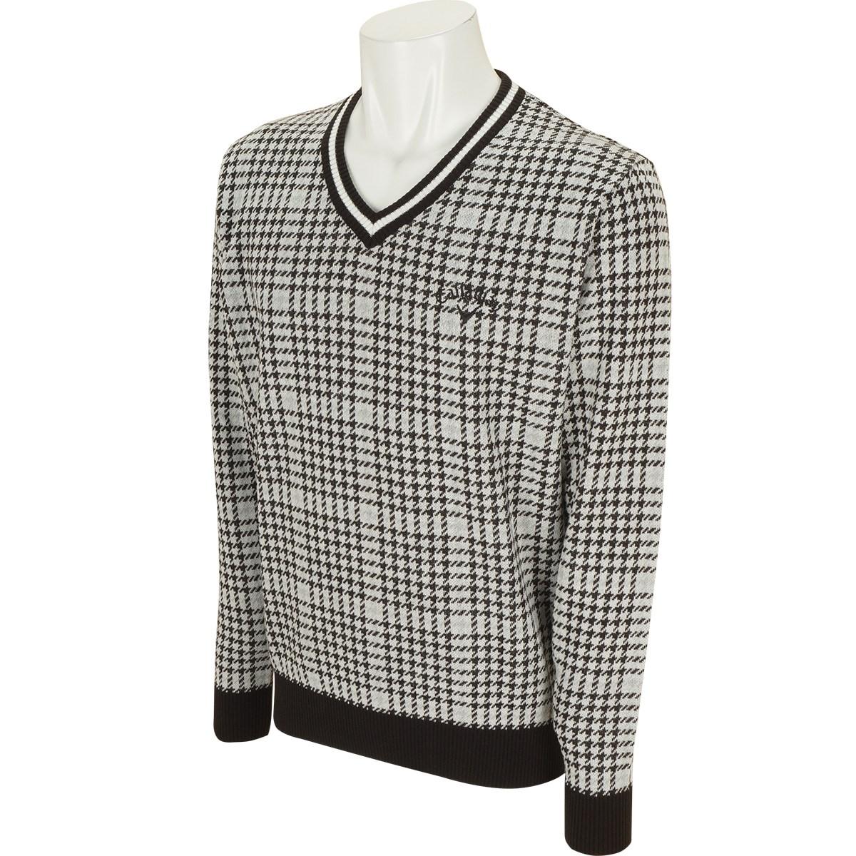 キャロウェイゴルフ(Callaway Golf) チェックVネックセーター