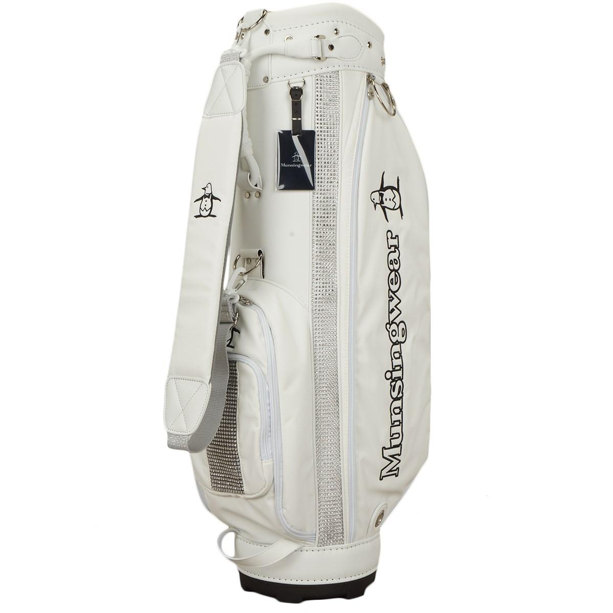 マンシングウェア Munsingwear キャディバッグ ホワイト 00 レディス
