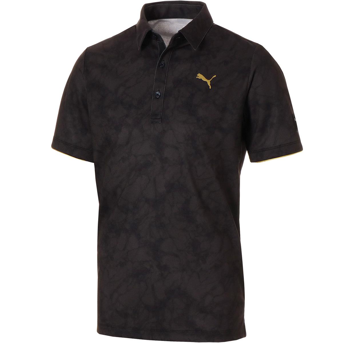 ストーン カモ 半袖ポロシャツ