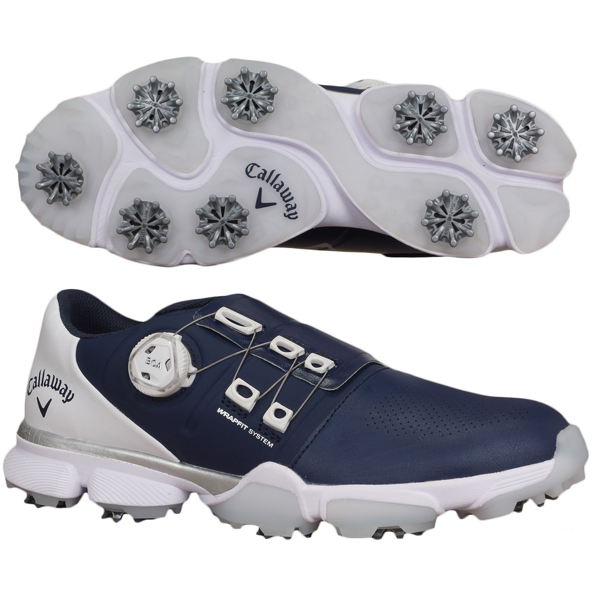キャロウェイゴルフ Callaway Golf ゴルフシューズ 27.5cm ネイビー 120