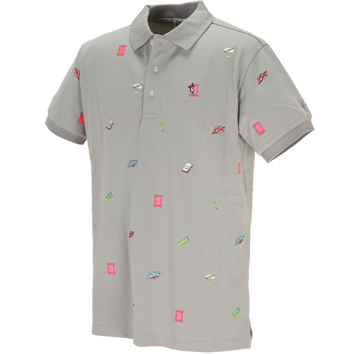 ドラえもん COOL MAX 鹿の子半袖ポロシャツ