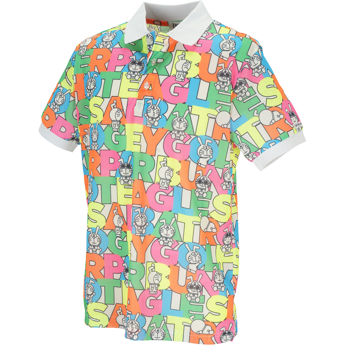 ドラえもん DRY MASTER30 鹿の子半袖ポロシャツ