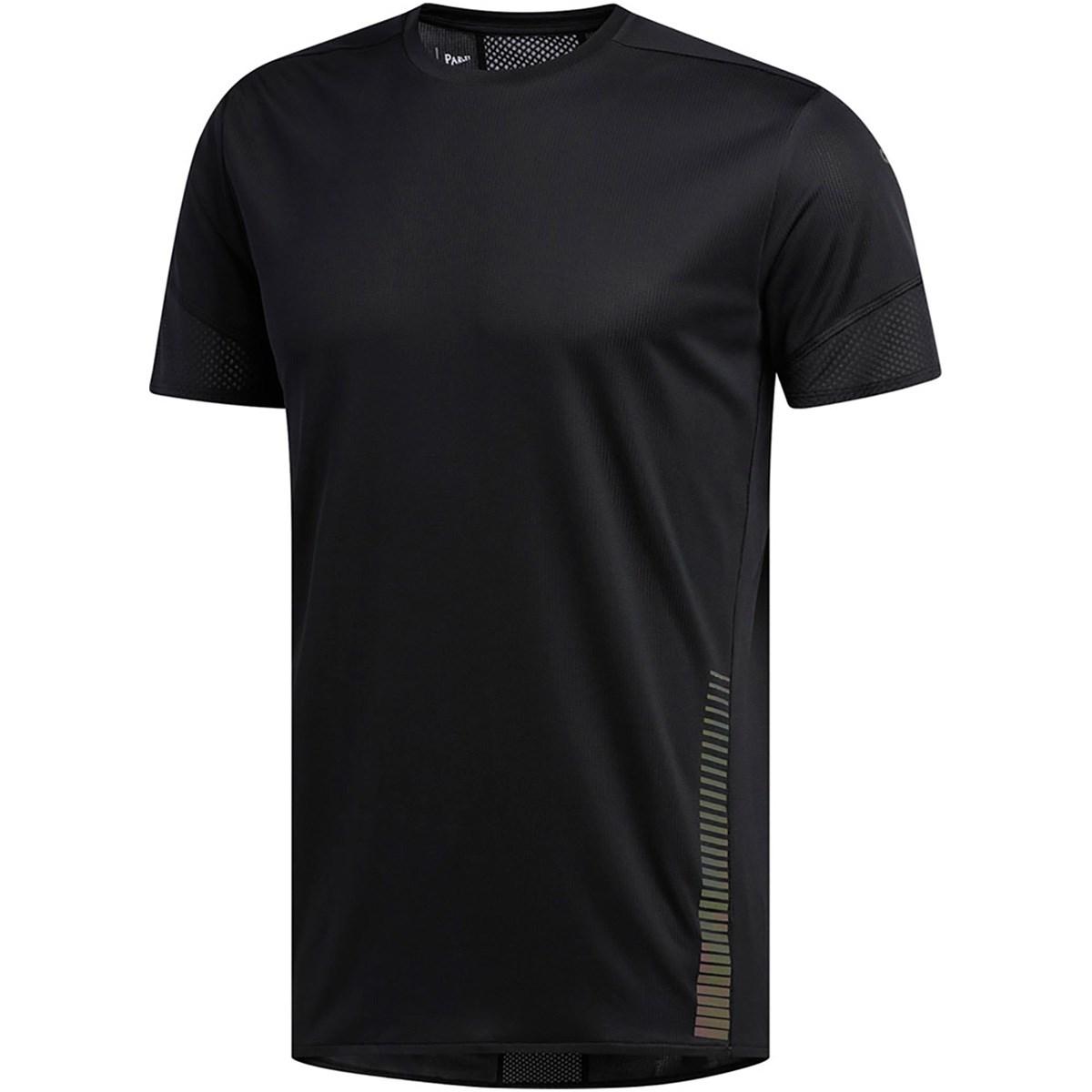 アディダス Adidas 25/7 Parley半袖Tシャツ J/XS ブラック