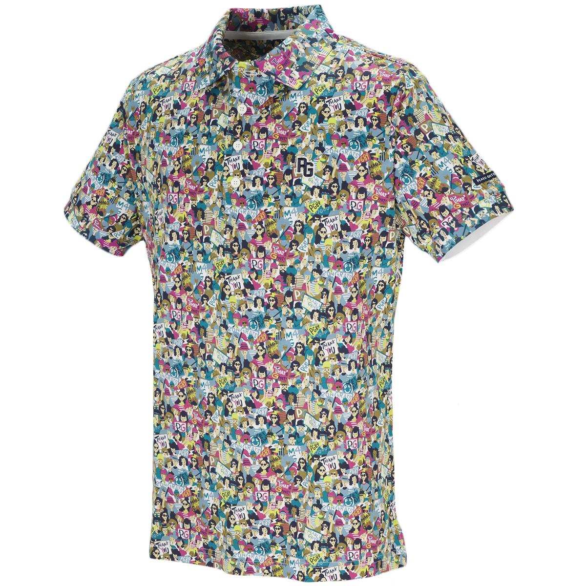 スーピマ鹿の子 半袖ポロシャツ
