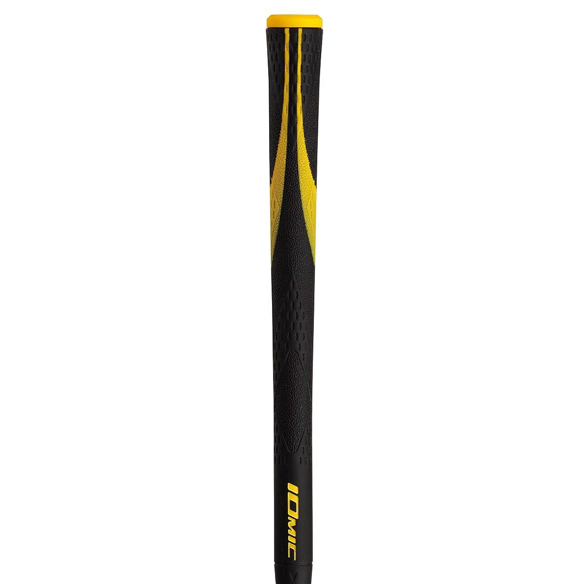 イオミック IOMIC X-Opus Black 2.3 グリップ 無し M60 外径:22.3mm(グリップエンドから5cm) ブラック/イエロー