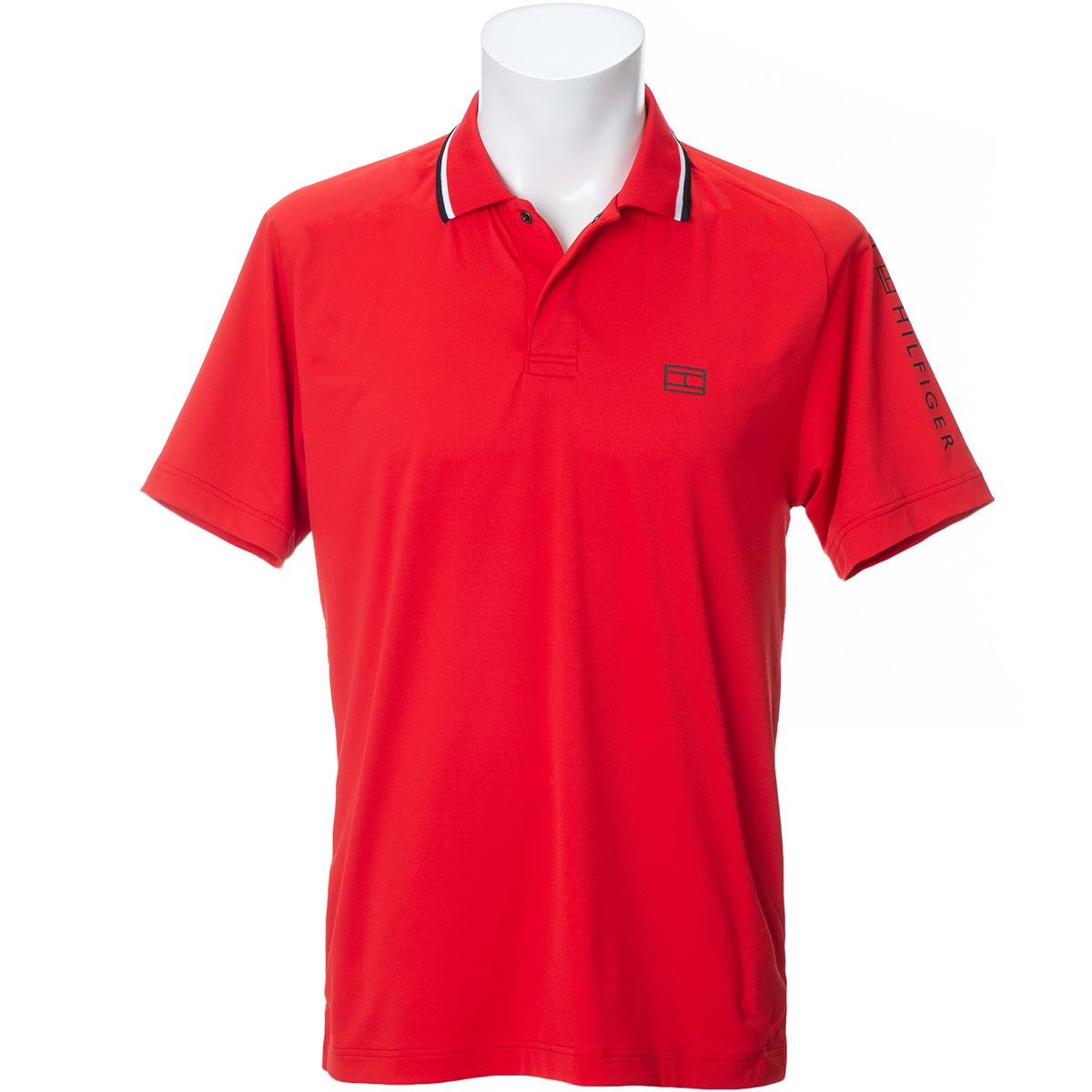 モノクローム 半袖ポロシャツ