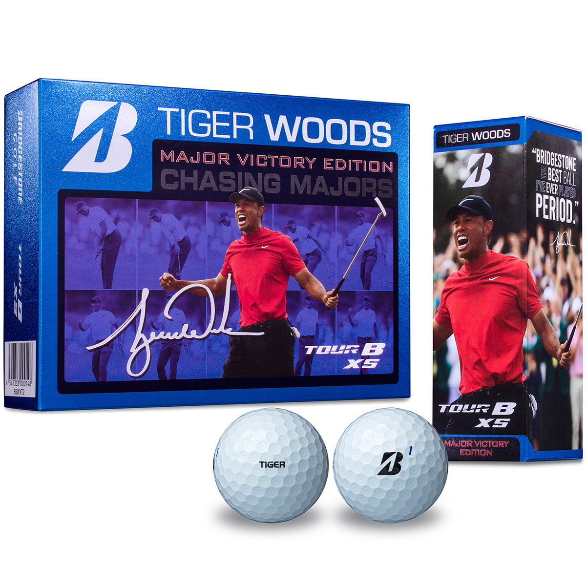 TOUR B XS TIGER WOODS MAJOR VICTORY EDITION ボール