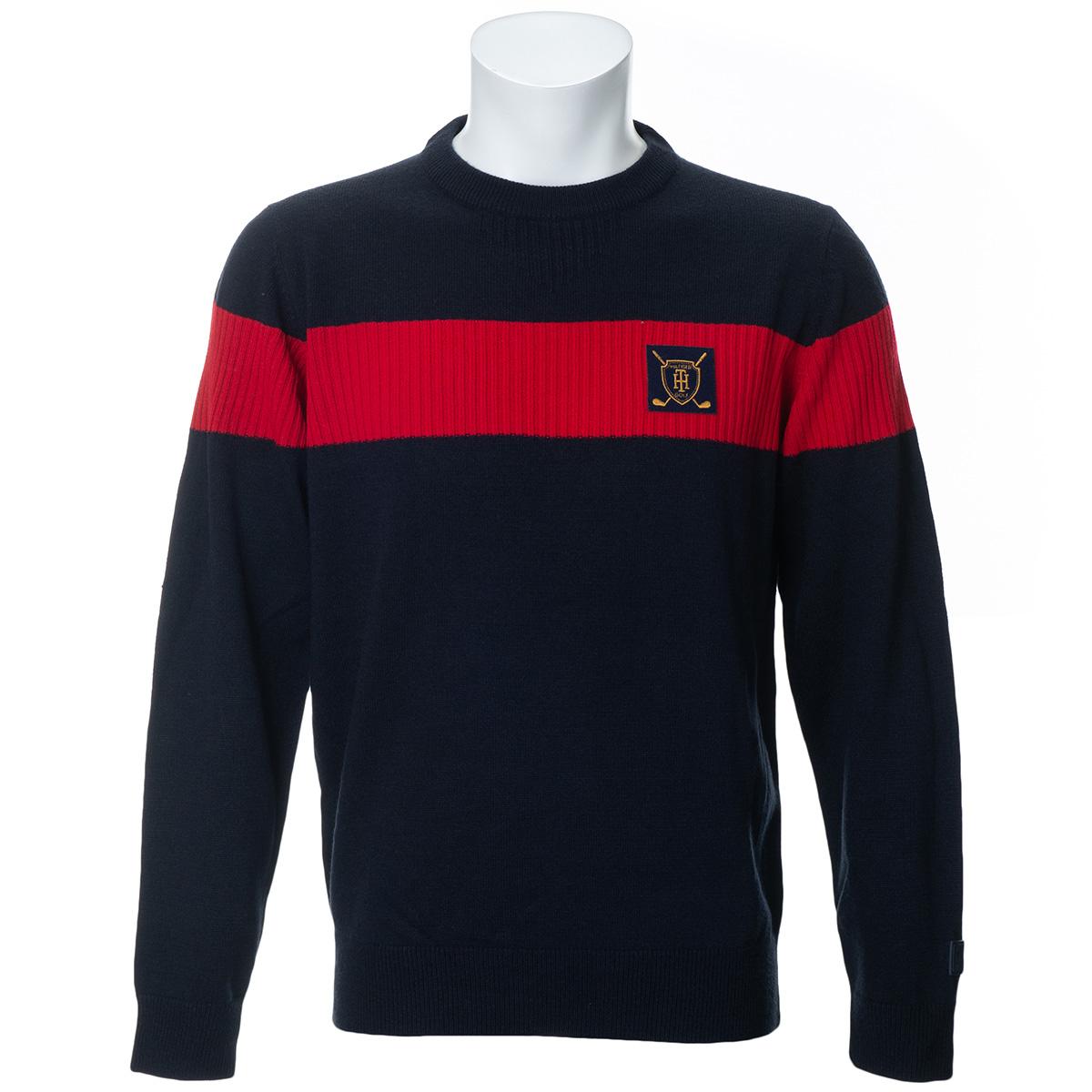 クレストマーク クルーネックセーター
