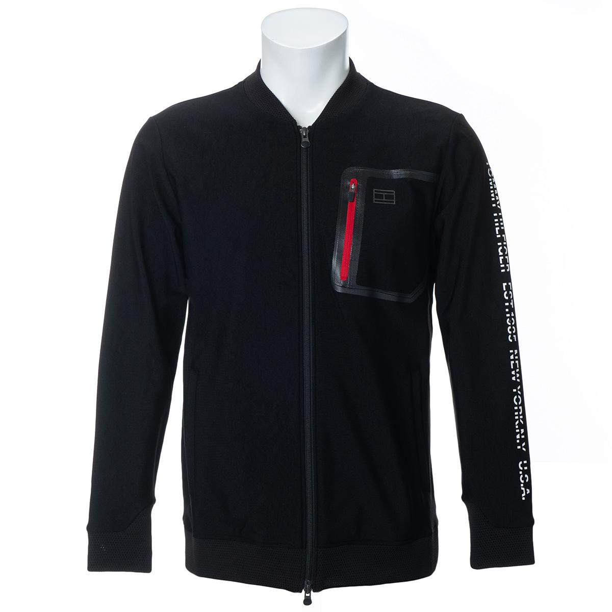 モノクローム ジップアップスウェットジャケット
