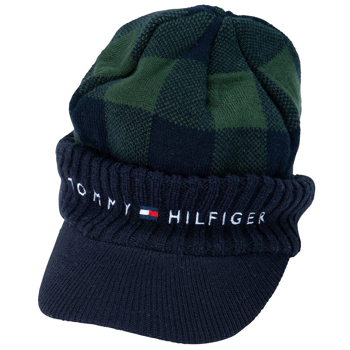 トミー ヒルフィガー ゴルフ TOMMY HILFIGER GOLF デタッチャブル ニットキャップ フリー グリーン レディス