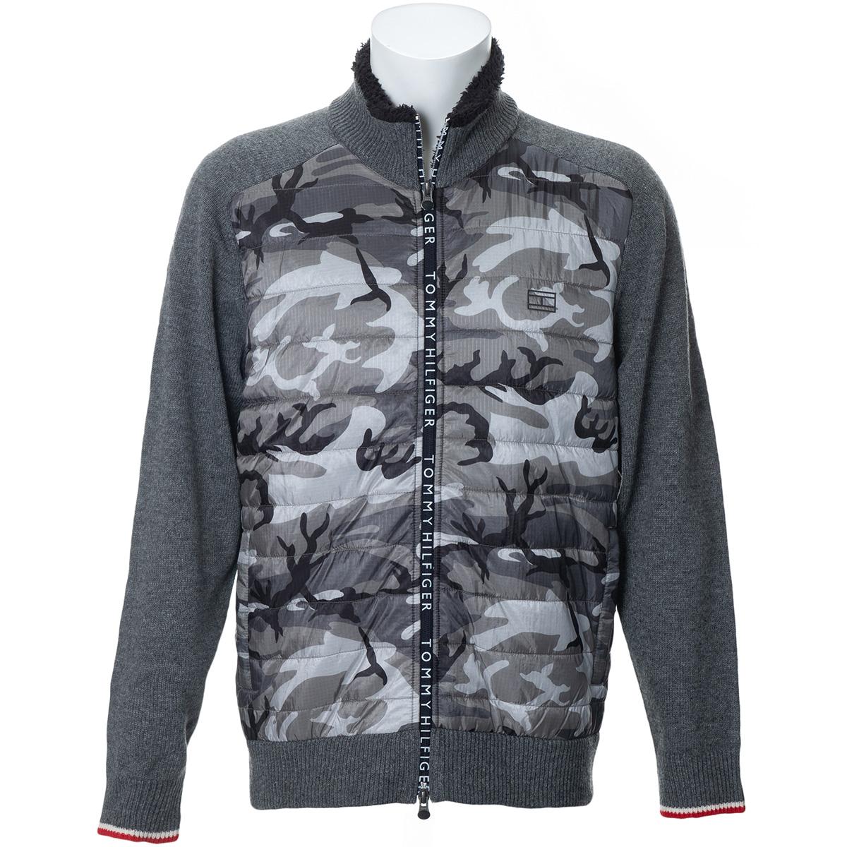 CAMOUFLAGE ジップアップセーター