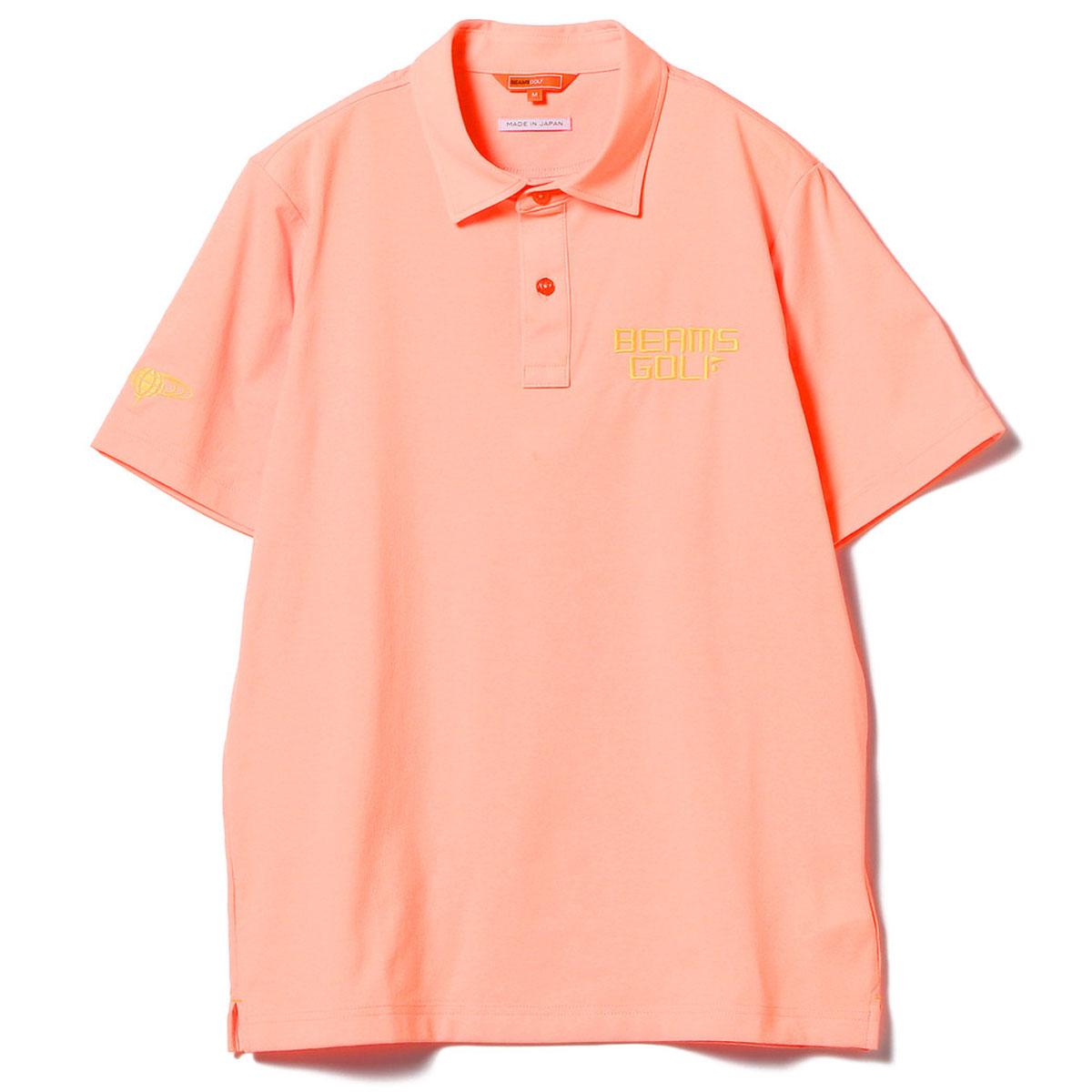 BEAMS GOLF ORANGE LABEL ネオンカラー ポロシャツ