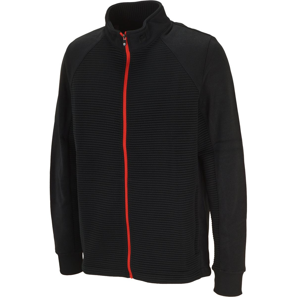 ストレッチ セーターフリースジャケット