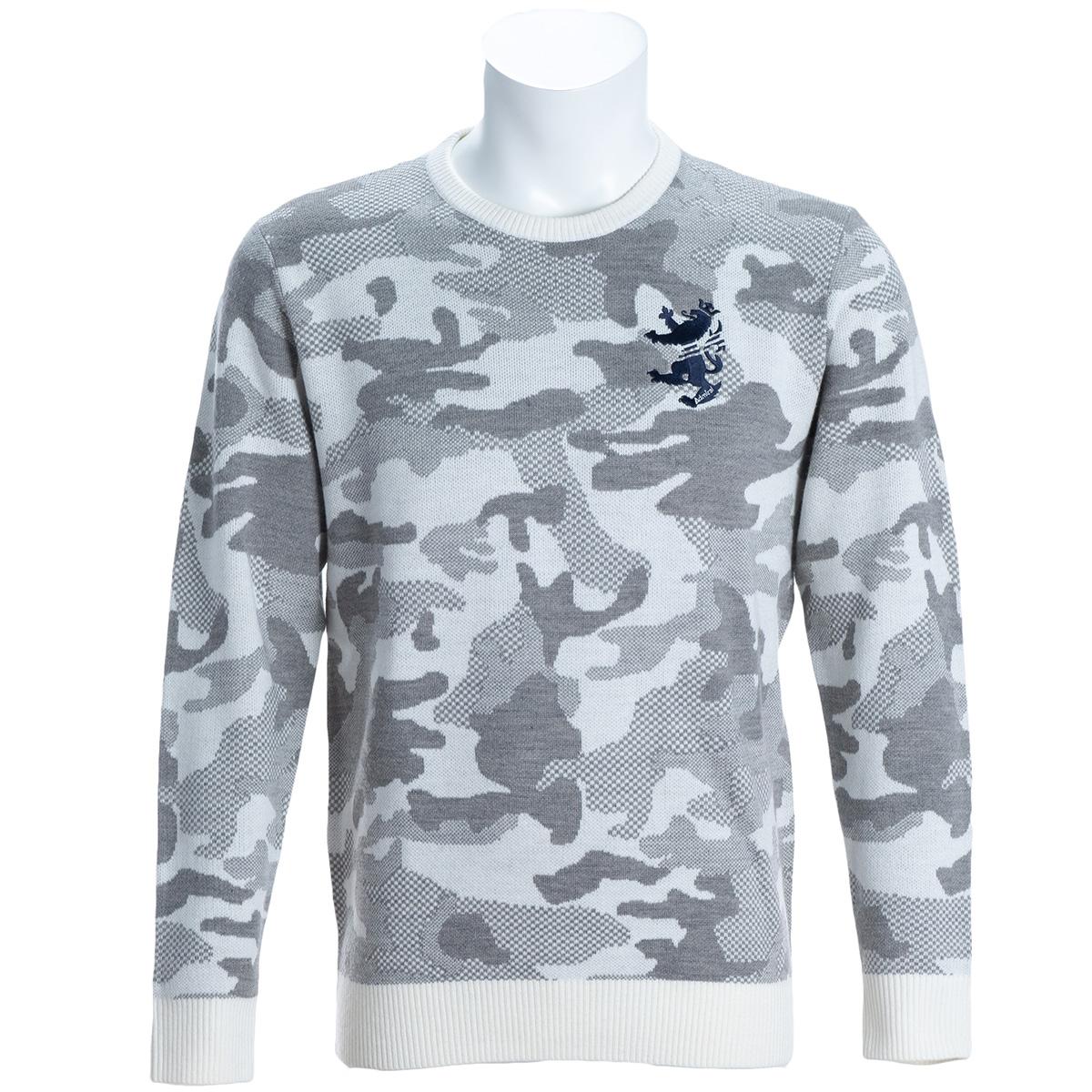 カモ クルーネックセーター