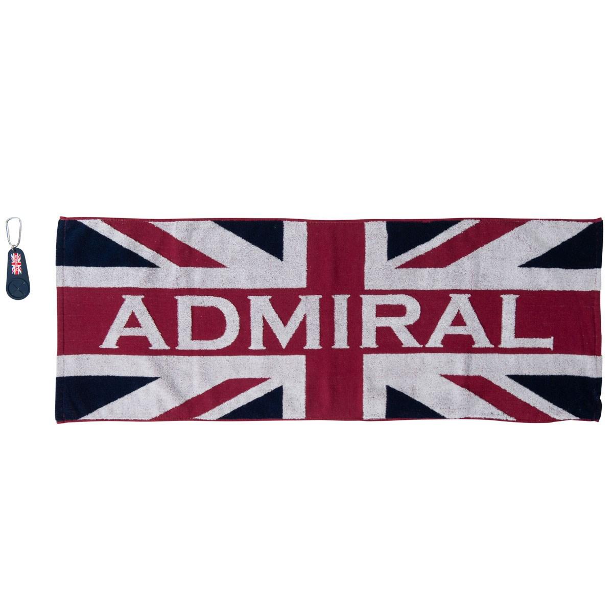 アドミラル Admiral ゴルフタオル(大) ホルダー付き マルチ