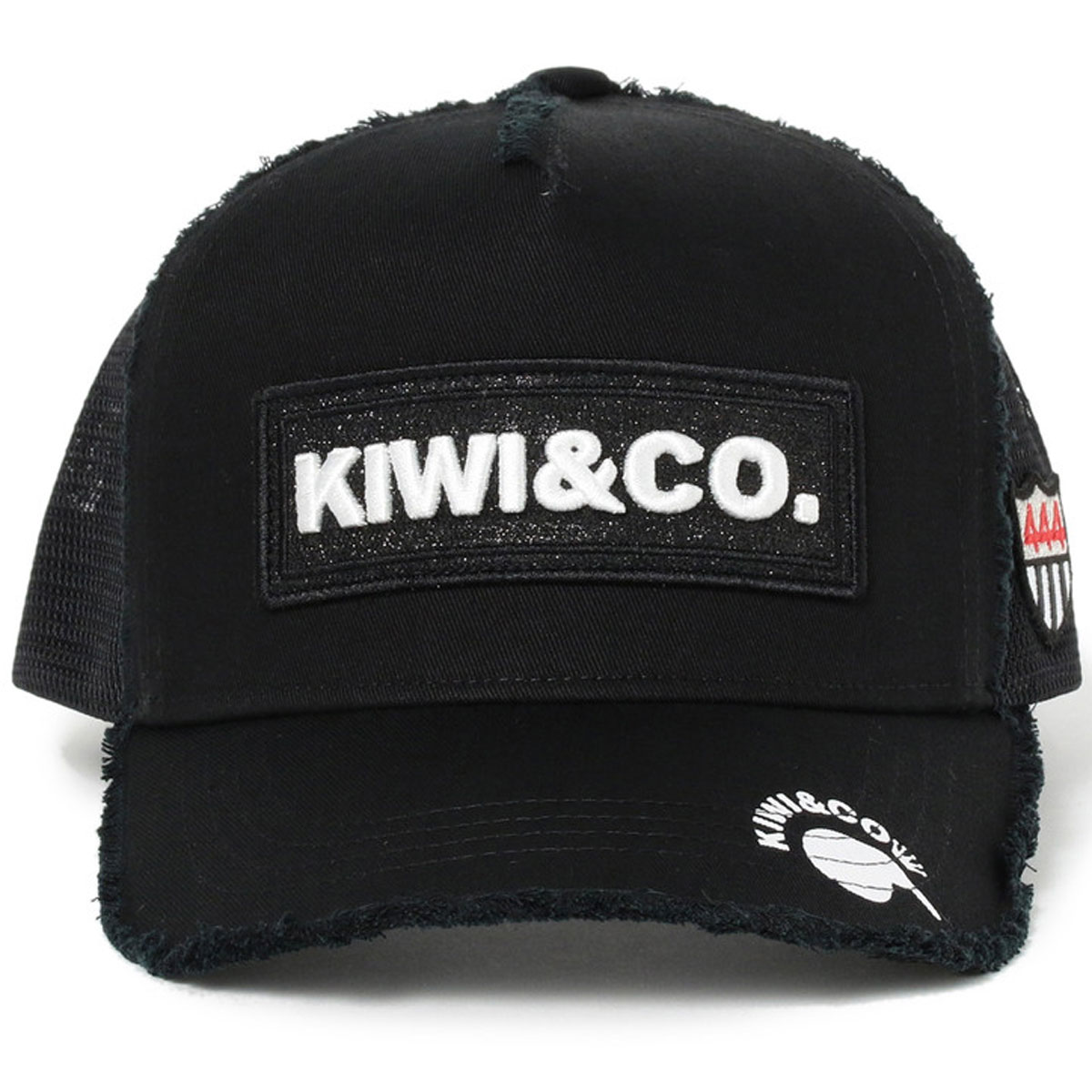 KIWI&Co. ワッペン ツイル キャップ
